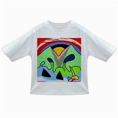 Colorful landscape Infant/Toddler T-Shirts