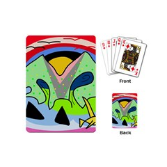 Colorful landscape Playing Cards (Mini)
