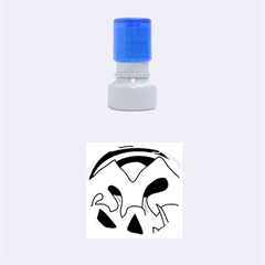 Colorful landscape Rubber Round Stamps (Small)