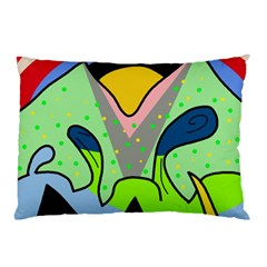 Colorful landscape Pillow Case (Two Sides)
