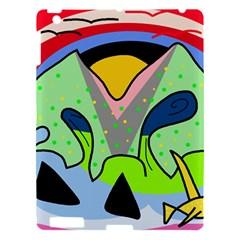 Colorful landscape Apple iPad 3/4 Hardshell Case
