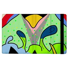 Colorful landscape Apple iPad 3/4 Flip Case