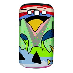 Colorful landscape Samsung Galaxy S III Classic Hardshell Case (PC+Silicone)