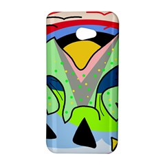 Colorful landscape HTC Butterfly S/HTC 9060 Hardshell Case