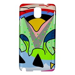 Colorful landscape Samsung Galaxy Note 3 N9005 Hardshell Case