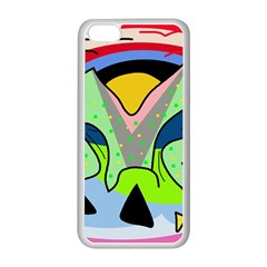 Colorful landscape Apple iPhone 5C Seamless Case (White)