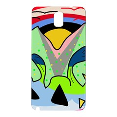 Colorful landscape Samsung Galaxy Note 3 N9005 Hardshell Back Case
