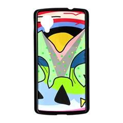 Colorful landscape Nexus 5 Case (Black)
