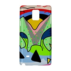 Colorful landscape Samsung Galaxy Note 4 Hardshell Case