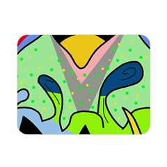 Colorful landscape Double Sided Flano Blanket (Mini)