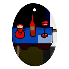 Table Ornament (Oval)