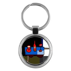 Table Key Chains (Round)