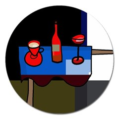 Table Magnet 5  (Round)