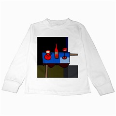 Table Kids Long Sleeve T-Shirts