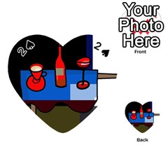 Table Playing Cards 54 (Heart)