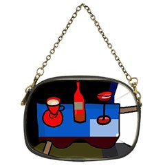 Table Chain Purses (One Side)