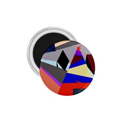 Geometrical abstract design 1.75  Magnets