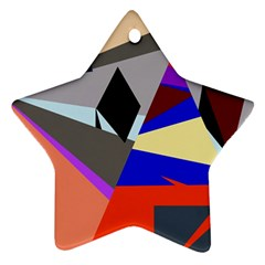 Geometrical abstract design Ornament (Star)