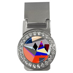 Geometrical abstract design Money Clips (CZ)