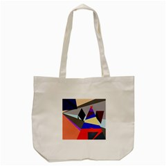 Geometrical abstract design Tote Bag (Cream)