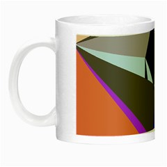 Geometrical abstract design Night Luminous Mugs
