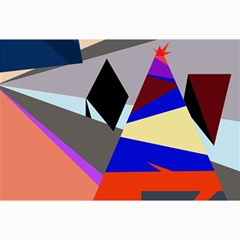 Geometrical abstract design Collage Prints