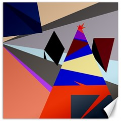 Geometrical abstract design Canvas 20  x 20