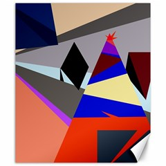 Geometrical abstract design Canvas 20  x 24