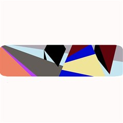 Geometrical abstract design Large Bar Mats