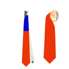 Geometrical abstract design Neckties (One Side)