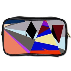 Geometrical abstract design Toiletries Bags 2-Side