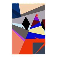Geometrical abstract design Shower Curtain 48  x 72  (Small)
