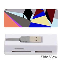 Geometrical abstract design Memory Card Reader (Stick)