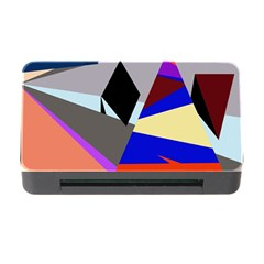 Geometrical abstract design Memory Card Reader with CF