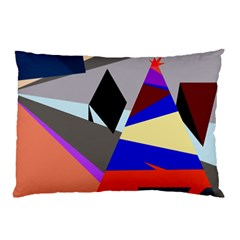 Geometrical abstract design Pillow Case (Two Sides)