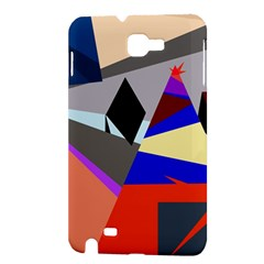 Geometrical abstract design Samsung Galaxy Note 1 Hardshell Case