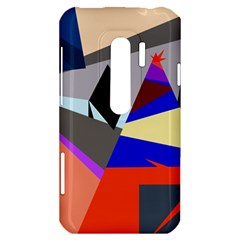 Geometrical abstract design HTC Evo 3D Hardshell Case