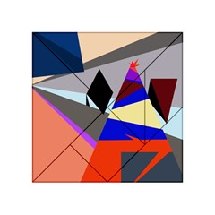 Geometrical abstract design Acrylic Tangram Puzzle (4  x 4 )