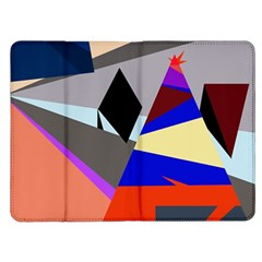 Geometrical abstract design Kindle Fire (1st Gen) Flip Case