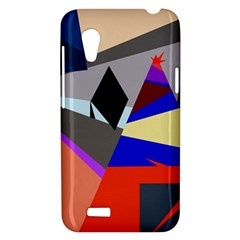 Geometrical abstract design HTC Desire VT (T328T) Hardshell Case