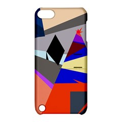 Geometrical abstract design Apple iPod Touch 5 Hardshell Case with Stand