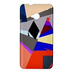 Geometrical abstract design HTC One M7 Hardshell Case