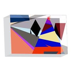 Geometrical abstract design 4 x 6  Acrylic Photo Blocks
