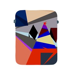 Geometrical abstract design Apple iPad 2/3/4 Protective Soft Cases