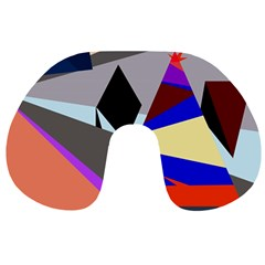 Geometrical abstract design Travel Neck Pillows