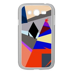 Geometrical abstract design Samsung Galaxy Grand DUOS I9082 Case (White)