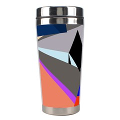 Geometrical abstract design Stainless Steel Travel Tumblers