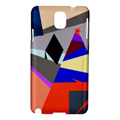 Geometrical abstract design Samsung Galaxy Note 3 N9005 Hardshell Case
