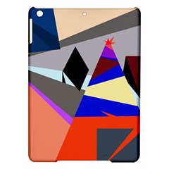 Geometrical abstract design iPad Air Hardshell Cases