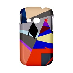 Geometrical abstract design Samsung Galaxy S6310 Hardshell Case